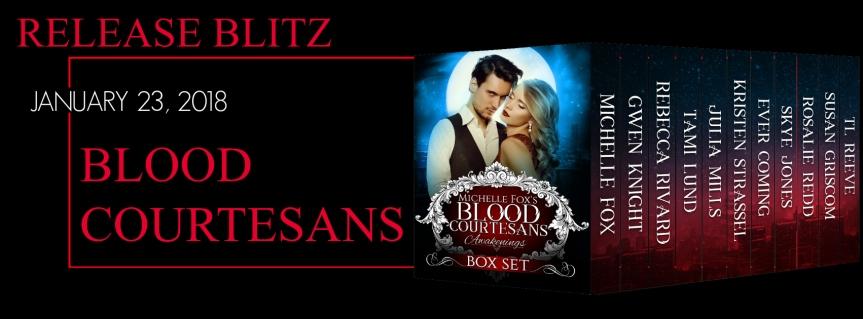 Release Blitz: BloodCourtesans